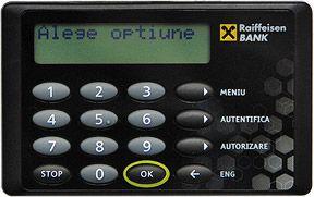 Card reader Raiffeisen Bank