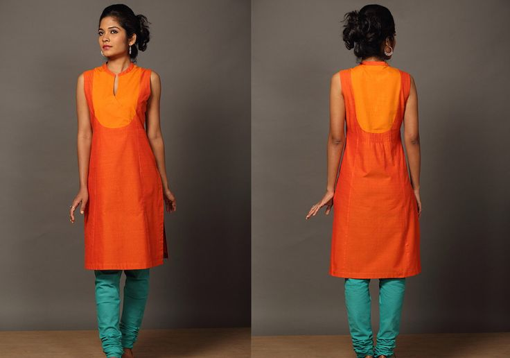Kurtis for women - Chendumalli Kaithari Kurta by Seamstress PC16204 - Main
