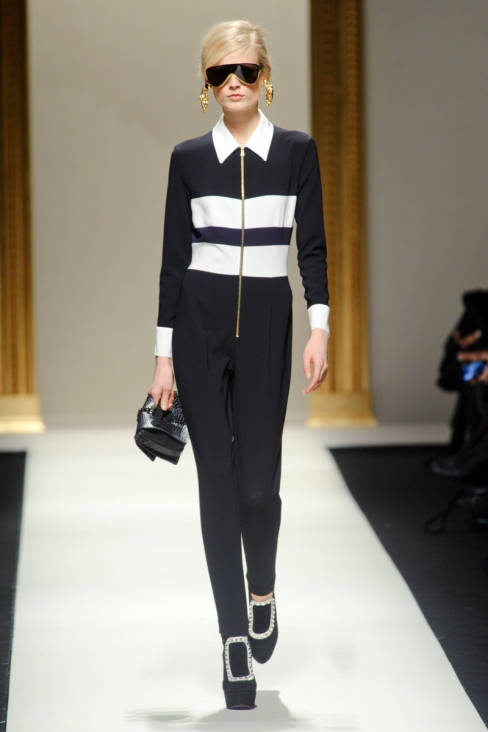 Moschino Fall 2013 Ready-to-Wear Runway - Moschino Ready-to-Wear Collection - ELLE