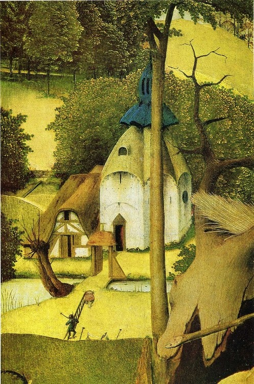 The Temptation of Saint Anthony (Detail) by Hieronymus Bosch