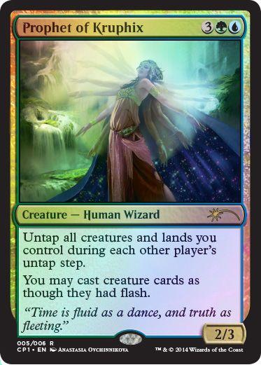 SKYWARD EYE PROPHETS Commander Anthology MTG Gold Creature — Human Wizard Unc