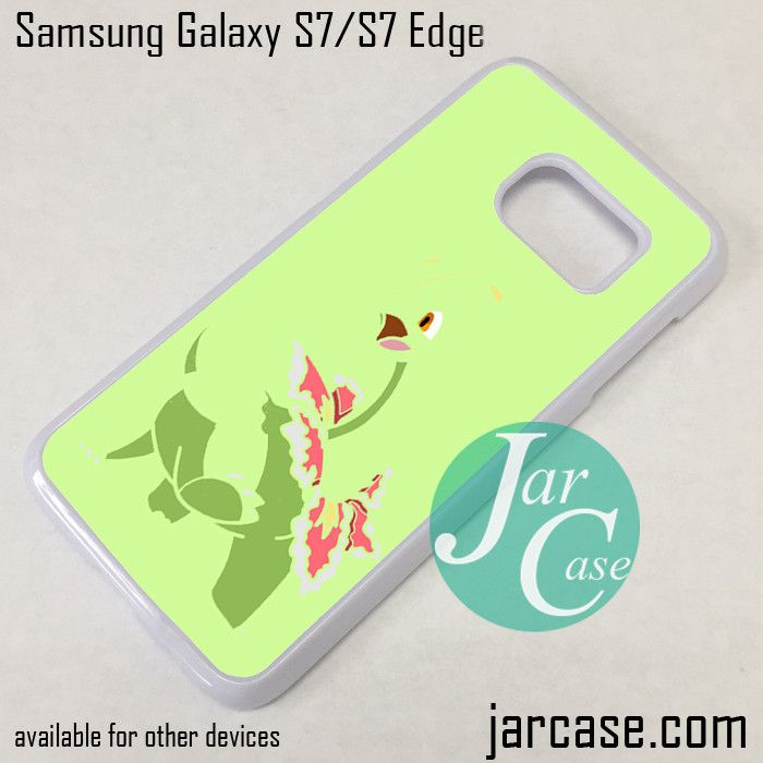 Pokemon Meganium Phone Case for Samsung Galaxy S7 & S7 Edge