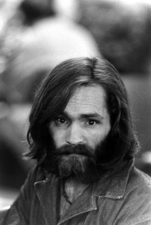 Charles Manson in custody, 1969