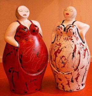 21 besten gartenfiguren bilder auf pinterest keramik kunst gesichter und skulpturen. Black Bedroom Furniture Sets. Home Design Ideas