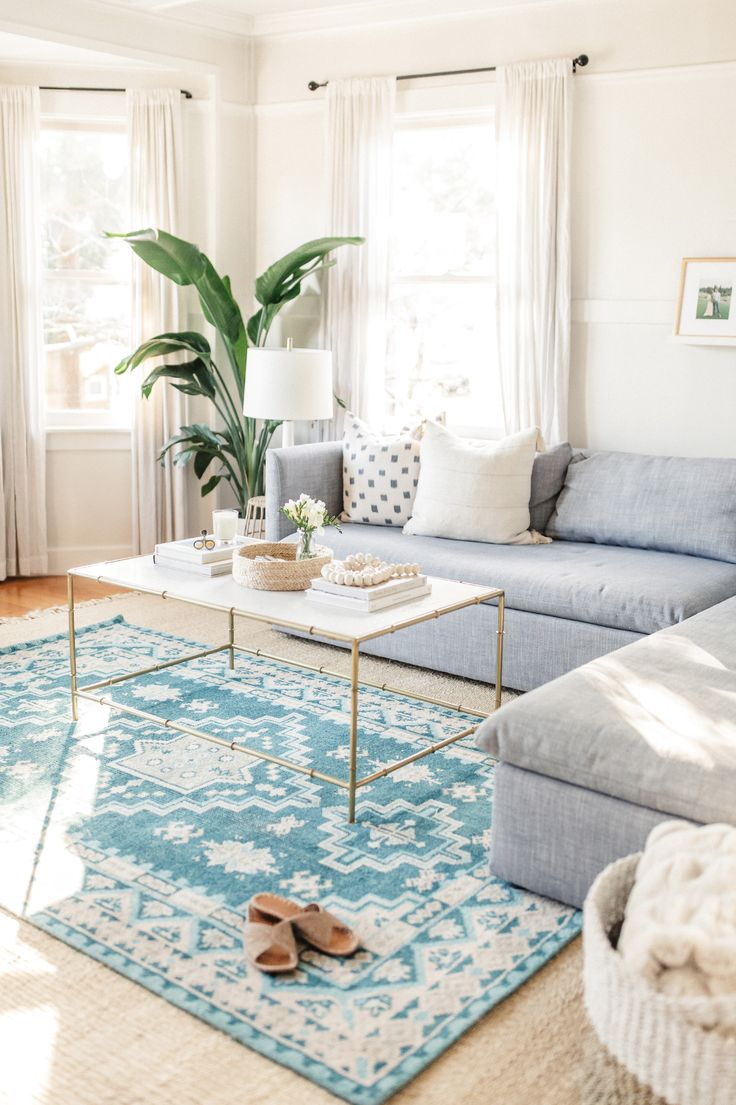 I get so excited when a brand or company I love releases something new and in this case I was extra excited because Lulu & Georgia just released the brand new Adana Rug.Y'all know how I obsess over rugs and it was so fun to play around with a bright new color in our living …