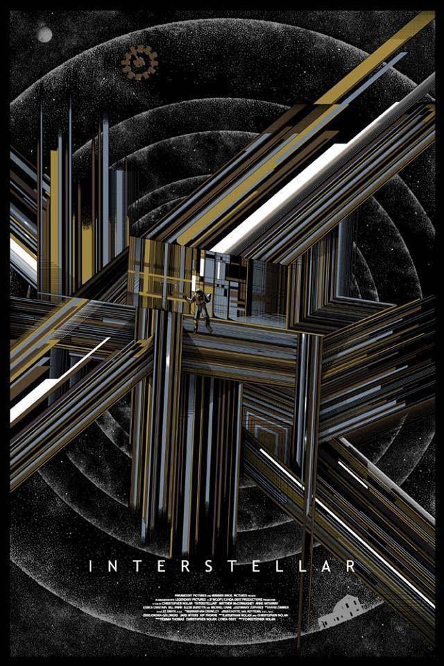 Interestelar Variante Pantalla impresión Cartel por Mondo artista Kilian Eng N. / 140 in Art, Prints, Contemporary (1980-Now), Limited Editions   eBay