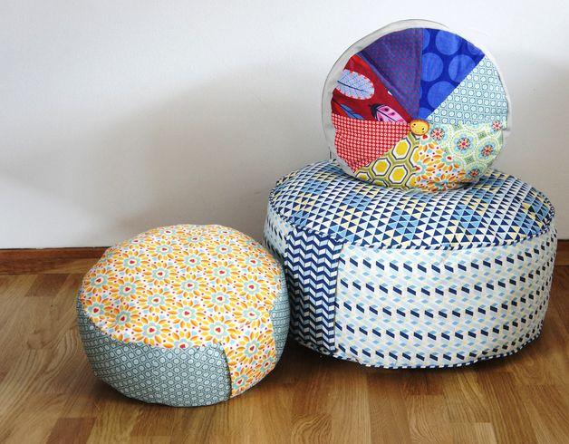 Nähanleitung für Yogakissen / diy sewing instructions: yoga cushions by frauscheinerebooks via DaWanda.com