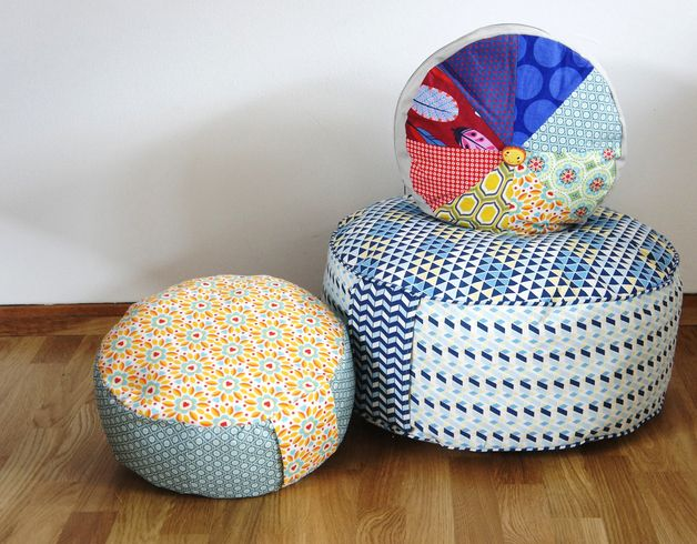 Nähanleitung für Yogakissen / diy sewing instructions: yoga cushions by frauscheinerebooks via DaWanda.com