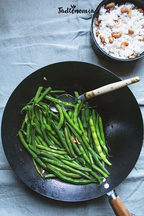 Fasolka szparagowa po wietnamsku