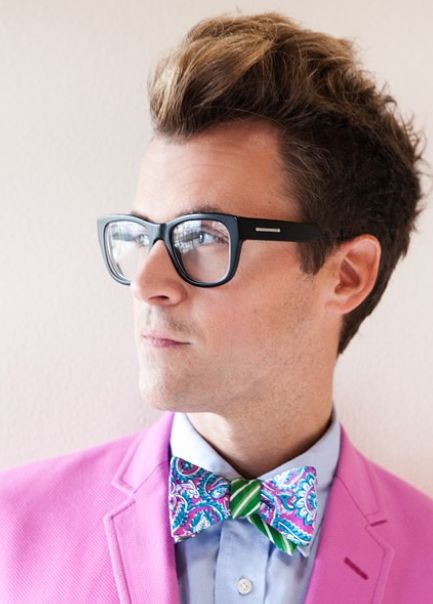 Fashion Stylist, TV Personality, and Author, Brad Goreski, for StyleCaster's 2012 feature for The 25 Most Stylish LA on StyleCaster.com