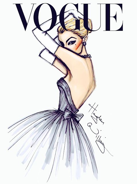 #voque  #fashiondrawing