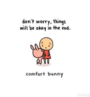 Comfort Bunny by Chibird