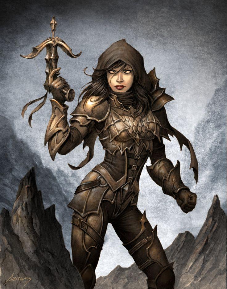 Demon Hunter Diablo 3 por Paul Abrams | Fan Art | 2D | CGSociety