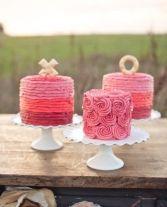 10 sencillas formas de decorar un pastel de bodas