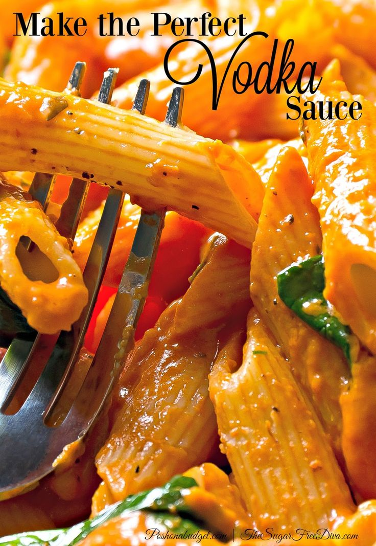 Make the Perfect Vodka Sauce @poshonabudget http://poshonabudget.com/2016/07/make-the-perfect-vodka-sauce.html