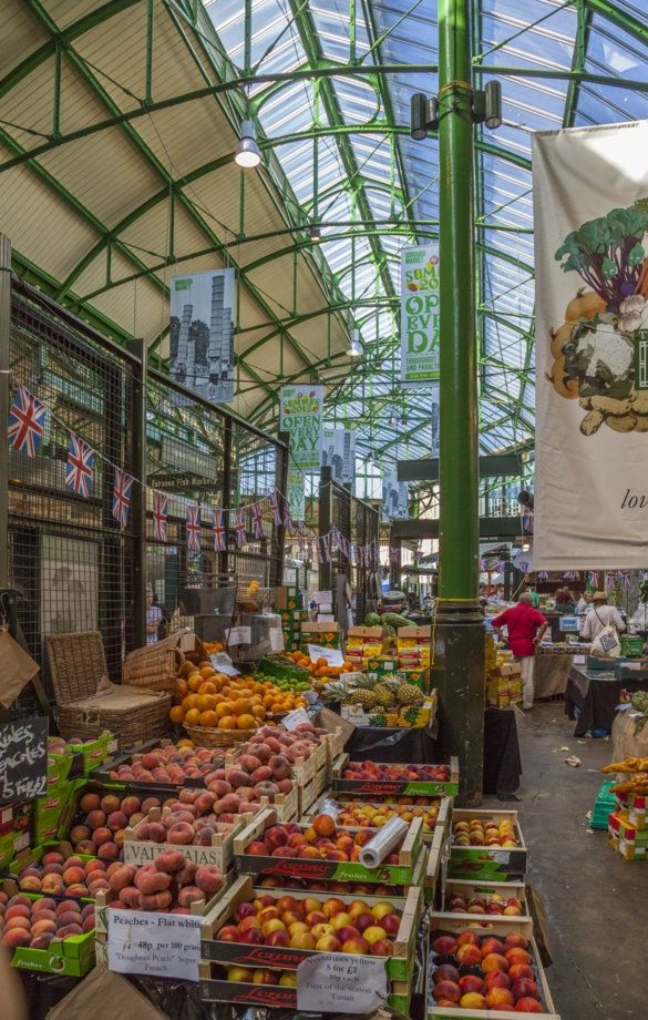 Foodies should head to Borough Market in London - best to go early in the morning or late in the afternoon to avoid the crowds though.