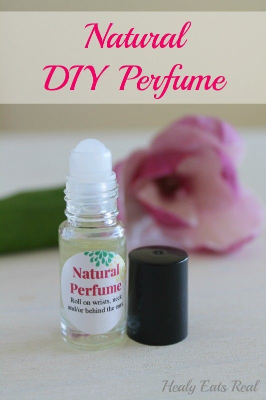 5-Minute Natural DIY Perfume- This easy recipe features natural essential oils!