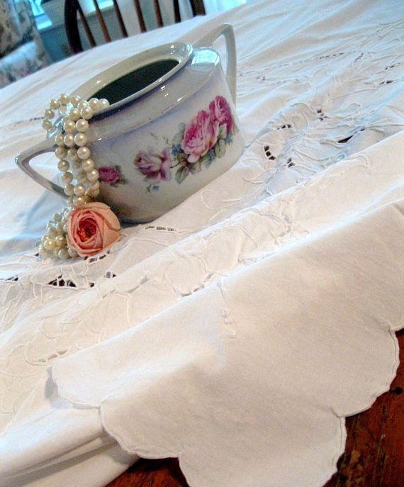 Battenburg Lace Large Tablecloth Wedding Supplies