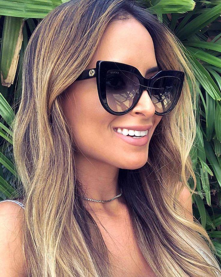 e69b1f9b93 Gucci gg0164s/001 in 2019 | Gafas de sol mujer | Lentes de sol mujer ...