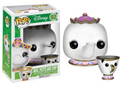 Funko POP Disney: Mrs. Potts and Chip Action Figure FunKo