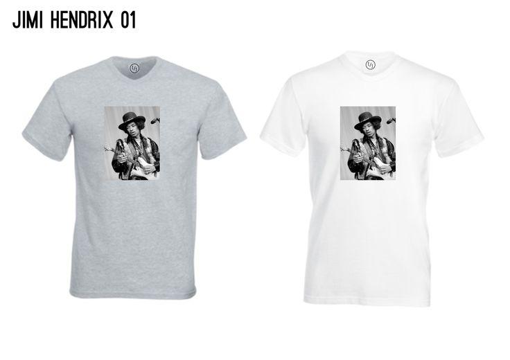 The Vintage T-Shirt Range - Jimi Hendrix