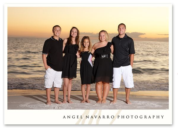 family+photos+on+beach | Family Beach Portraits