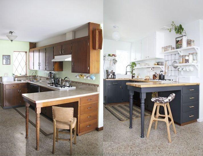 mutfak yenileme ornekleri oncesi ve sonrasi resimler boyama kaplama ve dolap yenileme (5)