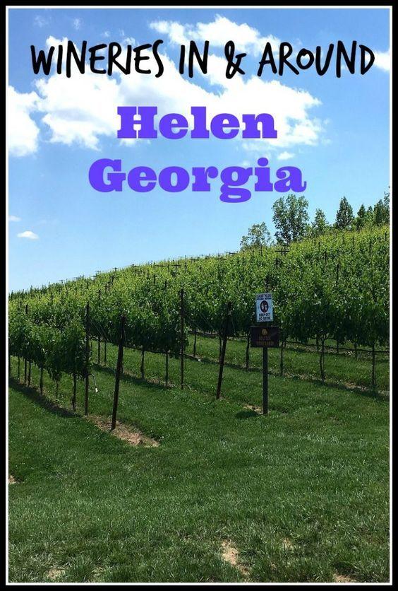 Wine Tasting In and Around Helen Georgia!