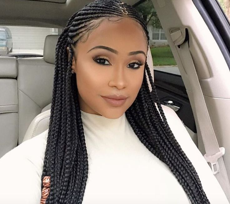 Nice braids @infamous__aicha - https://blackhairinformation.com/hairstyle-gallery/nice-braids-infamous__aicha/