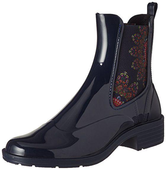 Desigual Shoes, Bottes de pluie bleu Femme. EUR 37,67