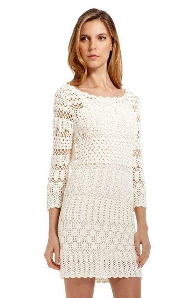 Платье от Boss Orange | Вязание для женщин | Вязание спицами и крючком. Схемы вязания.
