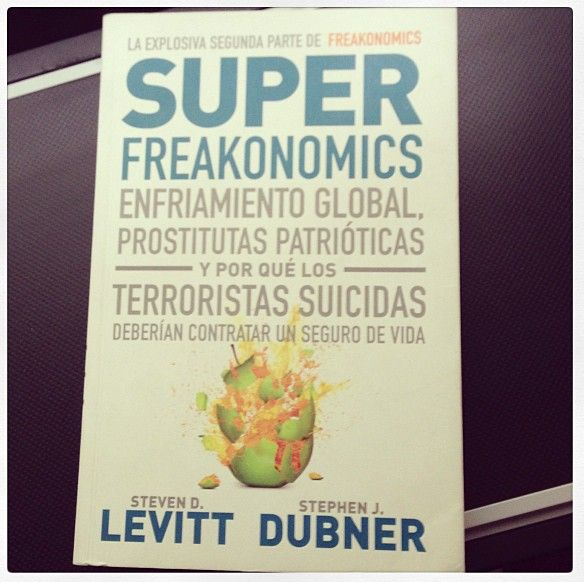 Those who know Steven Levitt and Stephen Dubner's writing will support me when I say that this is, beyond economics, a marketing book and a very entertaining one. Head over to www.freakonomics.com/books and get some more wisdom over there NOW!