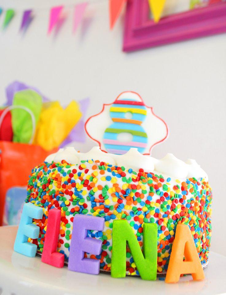 Edible Fondant Cake Topper Block Letter Name for Birthday Cake Rainbow Birthday Cake, My Little Pony, Rainbow Letters by SugarAndStripesCo on Etsy https://www.etsy.com/listing/188269628/edible-fondant-cake-topper-block-letter