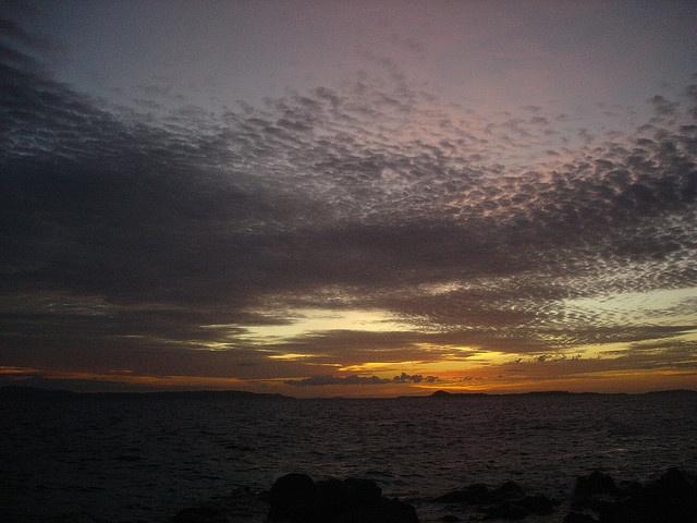 Sunset at Bangka Island, North Sulawesi © 2007 Laszlo Muzlai