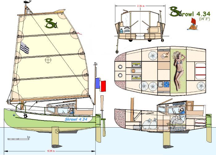 44 best images about Micro cruiser on Pinterest | The boat, Sailboat plans and Archipelago