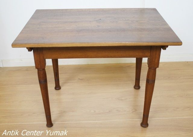 Jugendstil Tisch Esstisch Tafel Küchentisch Antik Eiche