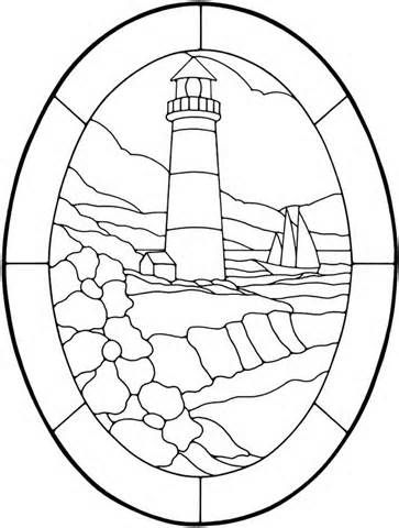 178 best Stained Glass Lighthouses images on Pinterest