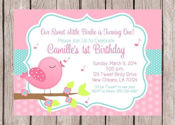 He encontrado este interesante anuncio de Etsy en https://www.etsy.com/es/listing/112625635/tweet-birdy-birthday-party-invitation