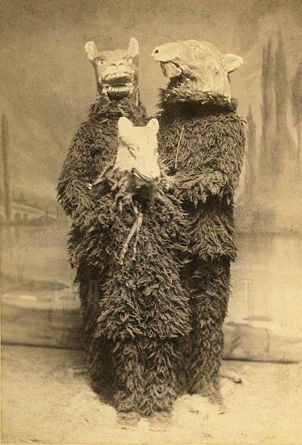 Vintage Nude 1890s Photo Family Spooky Beasts Creepy Odd ...