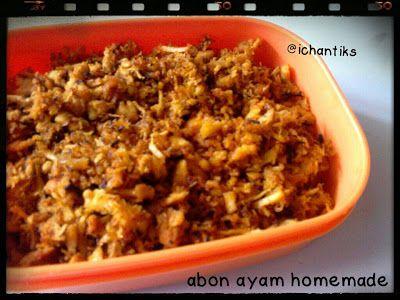 Cerita Mami Kenzie: Resep MPASI: Abon Ayam Homemade (1y+)