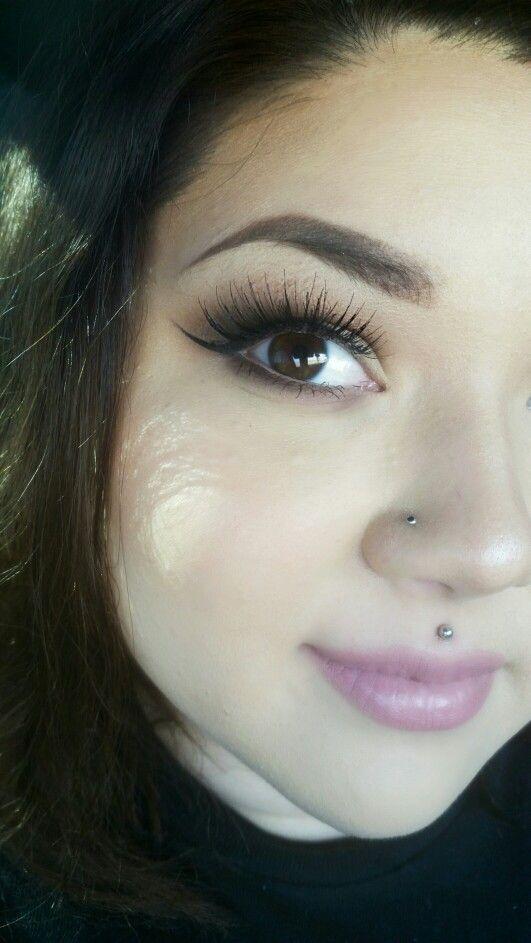 My medusa piercing (: