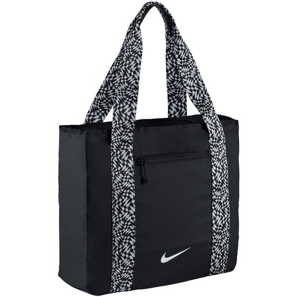 Nike Legend Track Tote (80 CAD) ❤ liked on Polyvore featuring bags, handbags, tote bags, accessories sport, sports fashion, womens-fashion, nike tote, sports tote bag, sport tote and nike tote bag