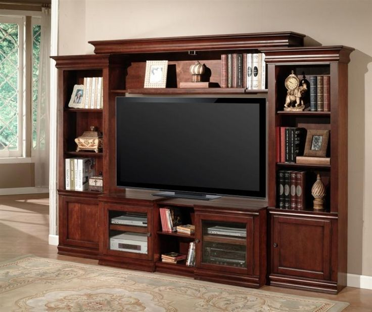 amor 43 60 inch tv 4 piece expendable premier wall unit in on wall units id=48948