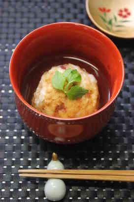 懐石風✿里芋饅頭 懐石風にした里芋です。あんかけでタレが絡み、中から出てくる具材も楽しみです。