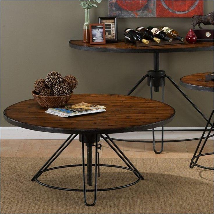 Round Coffee Table Standard Size: 25+ Best Ideas About Adjustable Height Coffee Table On