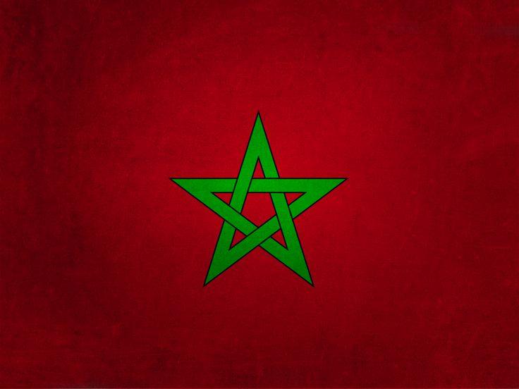 morocco flag wallpaper