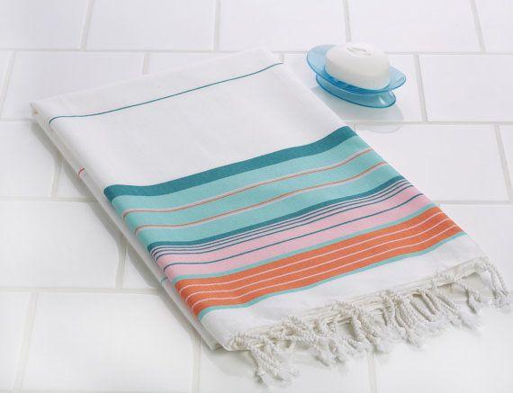 Cotton Turkish Towel  Handwoven Towel  di SultanOfTowels su Etsy