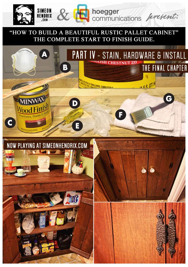 Cliqstudios Kitchen Cabinet Installation Guide Chapter: 50 Best Images About How To Build Beautiful Rustic Pallet