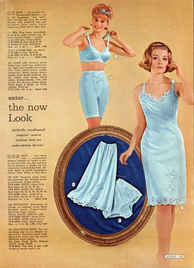 1960S lingerie woman I'd