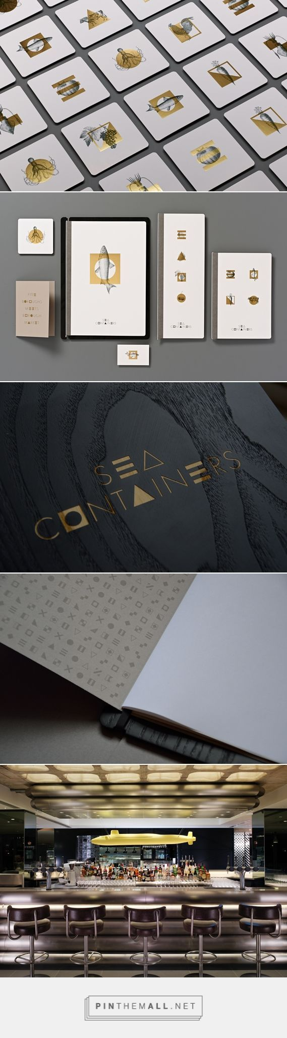 Sea Containers Restaurant Branding by Magpie Studio | Fivestar Branding – Design and Branding Agency & Inspiration Gallery
